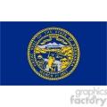 vector state flag of nebraska gif, png, jpg, eps, svg, pdf