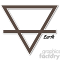 Earth symbol 002