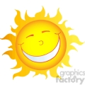12903 rf clipart illustration happy smiling sun cartoon character  gif, png, jpg, eps, svg, pdf