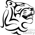 wild tiger logo 047