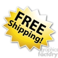 free shipping star burst icon right