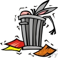 democrat image of a donkey in a trash can gif, png, jpg, eps, svg, pdf