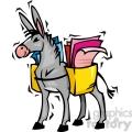 Democratic donkey voting ballot