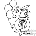 black and white democrat donkey gif, png, jpg, eps, svg, pdf