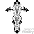 cross clip art tattoo illustrations 023