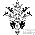 cross clip art tattoo illustrations 001