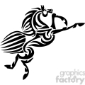 Horse clip art image royalty free vector clipart images for Horse jumping tattoos