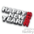 happy new year 2013  gif, png, jpg, eps, svg, pdf