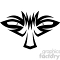 tribal masks vinyl ready art 032  gif, png, jpg, eps, svg, pdf