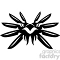tribal masks vinyl ready art 021  gif, png, jpg, eps, svg, pdf