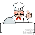 5351-royalty-free-rf-clipart-winked-chef-logo-banner-with-platter-showing-thumbs-up  gif, png, jpg, eps, svg, pdf