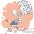 rose with a heart gif, png, jpg, eps, svg, pdf