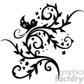 chinese swirl floral design 043  gif, png, jpg, eps, svg, pdf