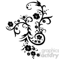 chinese swirl floral design 058  gif, png, jpg, eps, svg, pdf
