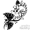 chinese swirl floral design 013  gif, png, jpg, eps, svg, pdf