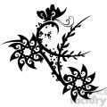 chinese swirl floral design 025  gif, png, jpg, eps, svg, pdf
