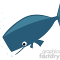 sperm whale clip art on white  gif, png, jpg, eps, svg, pdf