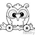 Pull Toy Owl 3