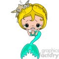 Girl 2 Doll Caucasian Mermaid