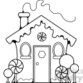 gingerbread house  gif, png, jpg, eps, svg, pdf