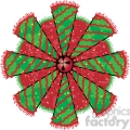 Christmas Tree Cone 06 Wreath clipart