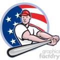 baseball player batting side low CIRC