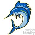 sailfish jumping cartoon