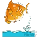 cartoon fish jumping out of water  gif, png, jpg, eps, svg, pdf