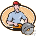 concrete sawing drilling worker  gif, png, jpg, eps, svg, pdf