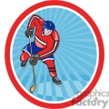 ice hockey player action front OL 006