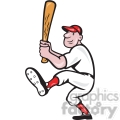 baseball player batting front kick  gif, png, jpg, eps, svg, pdf