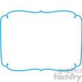 blue lines frame swirls boutique design border 11  gif, png, jpg, eps, svg