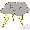lightning cartoon character