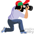 male photographer illustration photos of flowers  gif, png, jpg, eps, svg, pdf