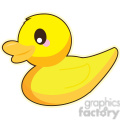 cartoon Duck illustration clip art image