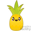 cartoon Pineapple illustration clip art image