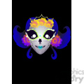 day of the dead 8 cartoon character illustration  gif, png, jpg, eps, svg, pdf