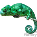 chameleon geometry geometric polygon vector graphics rf clip art images  gif, png, jpg, eps, svg, pdf