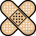 double band aid icon
