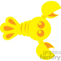 yellow_lobster vector image rf clip art  gif, png, jpg, eps, svg, pdf