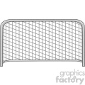 cartoon football gate vector illustration isolated on white background  gif, png, jpg, eps, svg, pdf