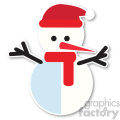 snowman icon vector art  gif, png, jpg, eps, svg, pdf