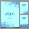 vector letter brochure template set 027  gif, png, jpg, svg, pdf