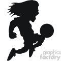 jumping soccer player vector svg cut file  gif, png, jpg, eps, svg, pdf