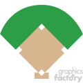 baseball field graphic svg cut file vector  gif, png, jpg, eps, svg, pdf
