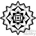 mandala geometric vector design 009