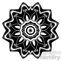 mandala geometric vector design 022