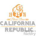 california state logo design vector art v2