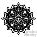 mandala geometric vector design 020