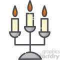 Candlesticks clip art vector images